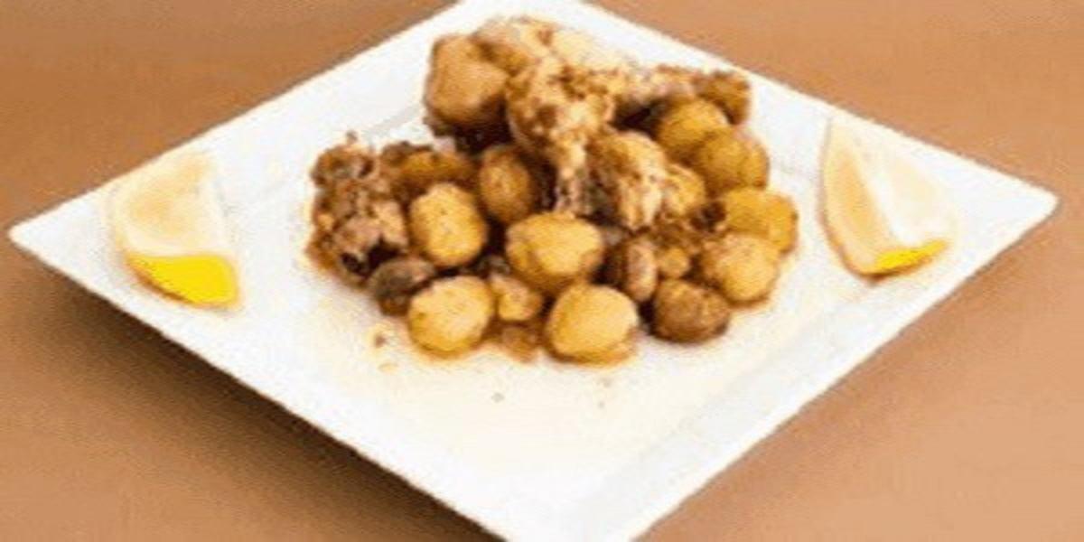 Frango Frito com Castanhas