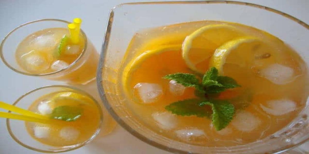Chá Gelado de Pêssego