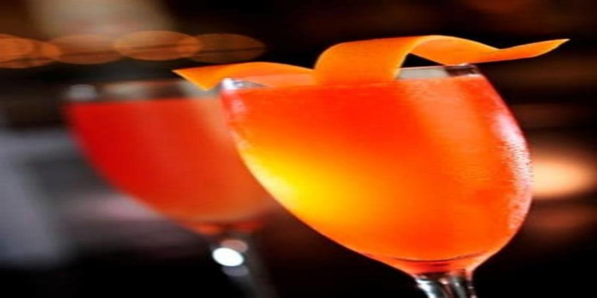 Cocktail de Champanhe com Sumo de Toranja
