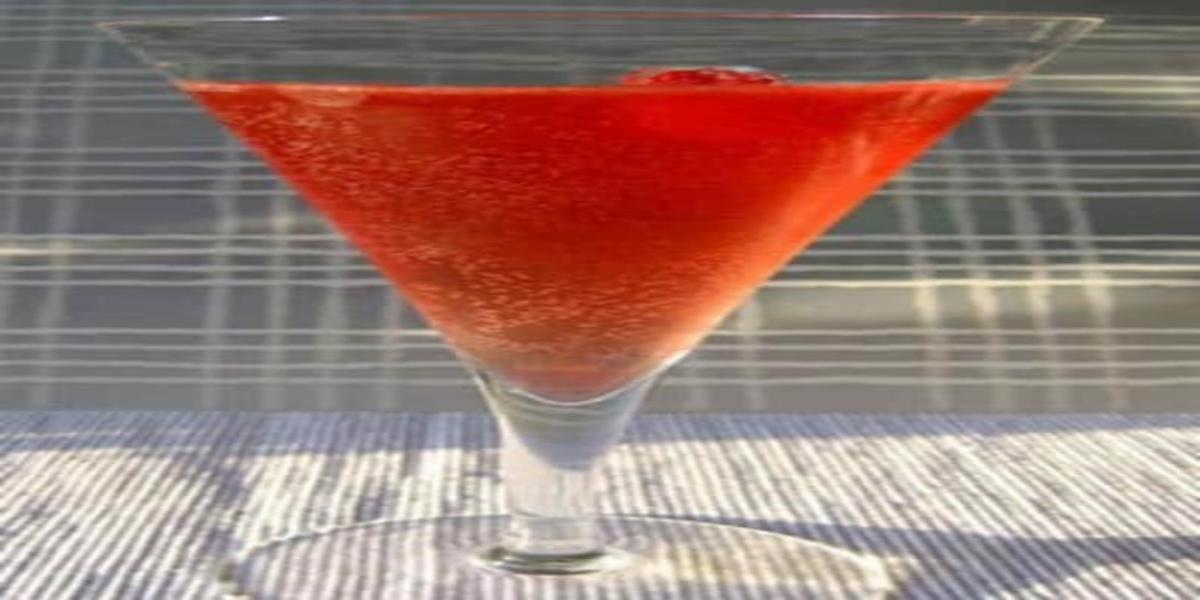 Cocktail de Champanhe e Arandos
