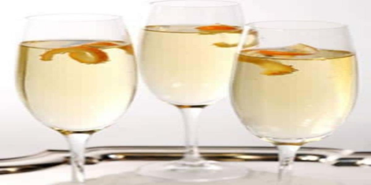 Cocktail de Champanhe e Clementina