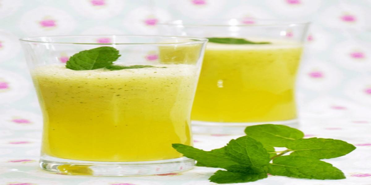Limonada de Maçã e Hortelã