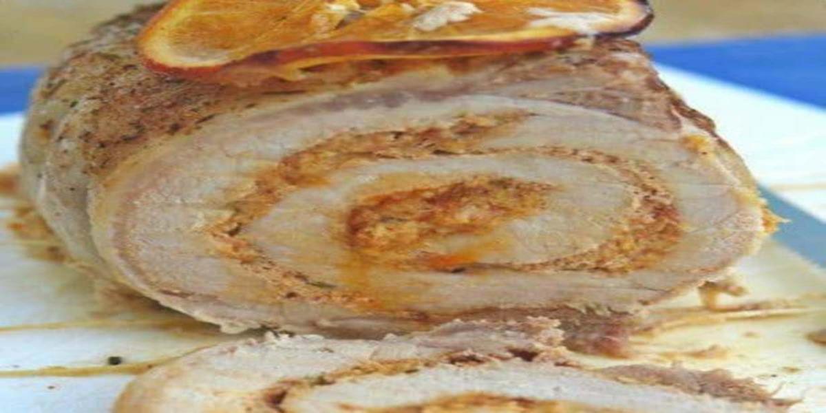 Lombo Recheado com Paté de Alheira