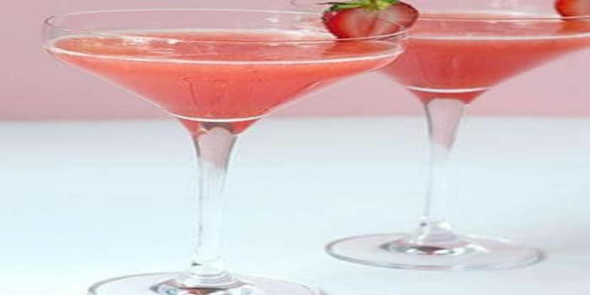 Martini de Morango