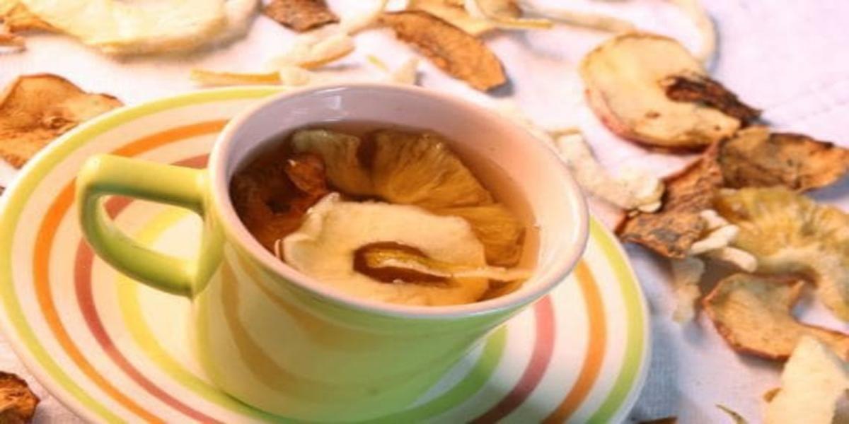 Chá de Rosas e Frutas Secas Light