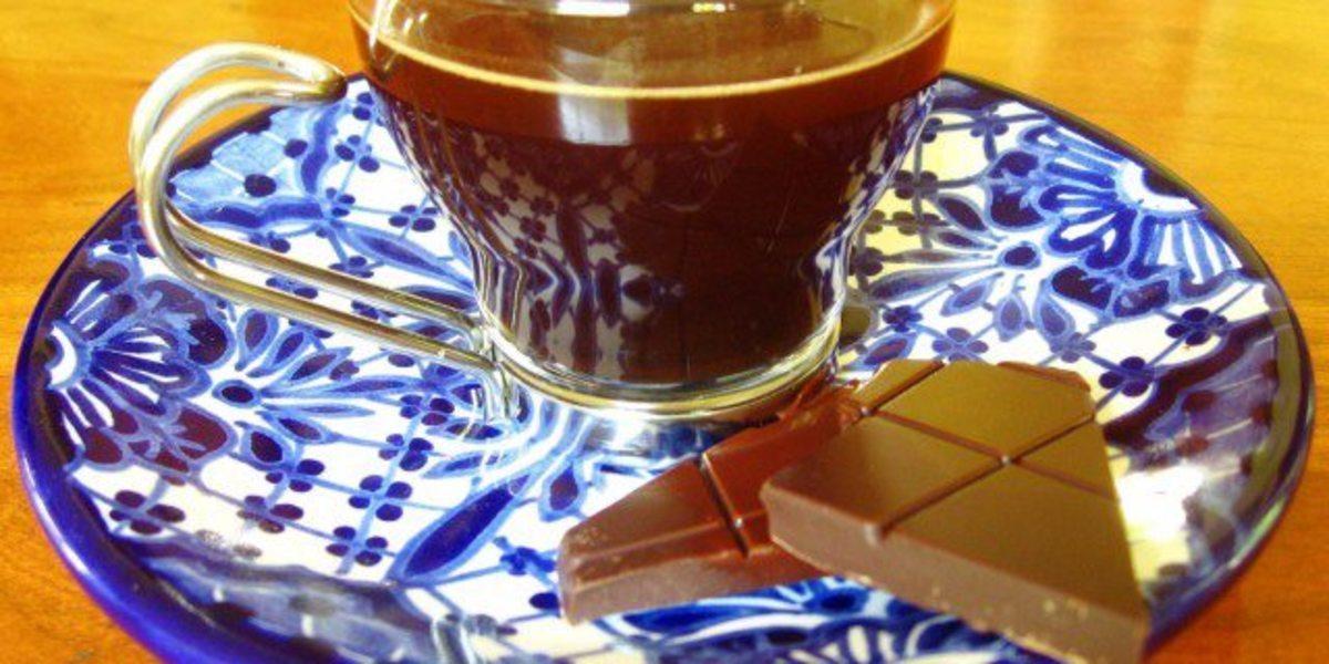 Chocolate Quente com Café