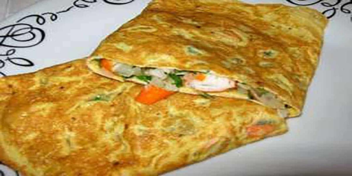 Omelete de Delicias do Mar