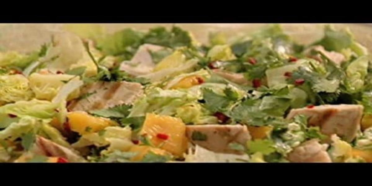 Salada Tropical de Frango