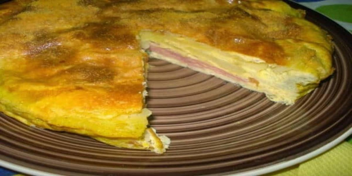 Tortilha de Batata no Forno