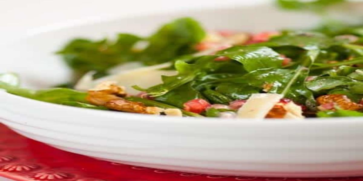 Salada de Rúcula e Romã
