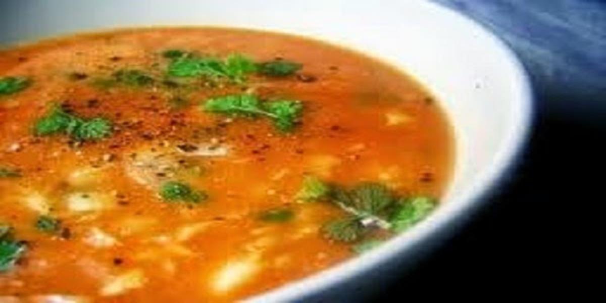 Sopa Aromatizada de Peixe