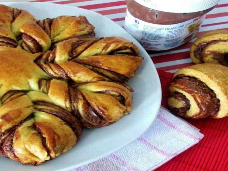 Pão Estrela de Nutella