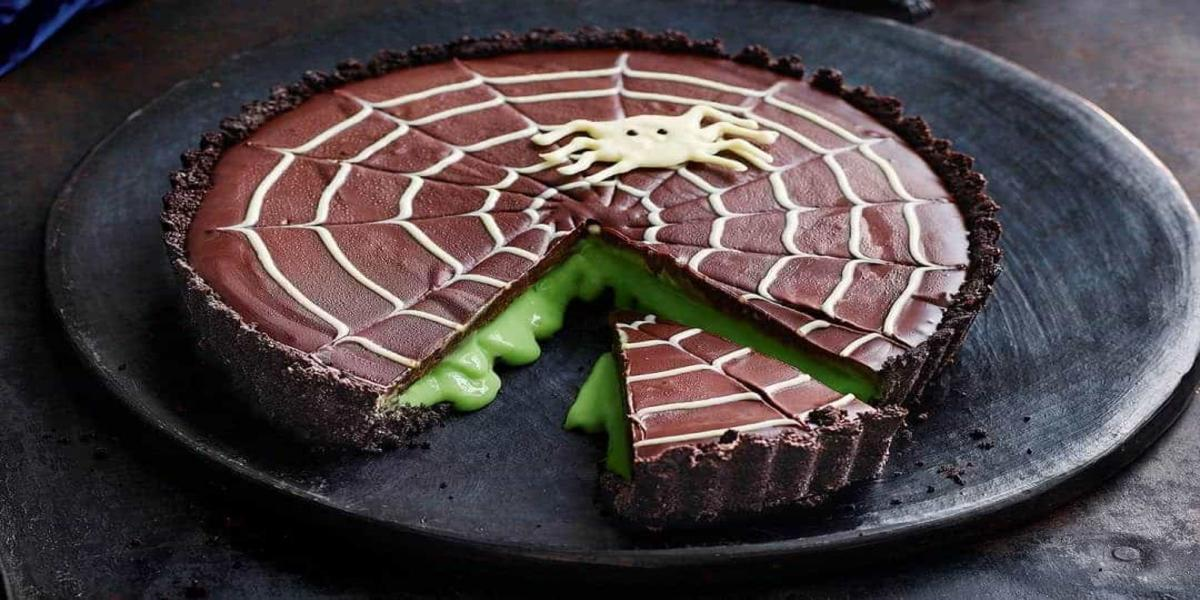 Bolo de Chocolate Viscoso Halloween