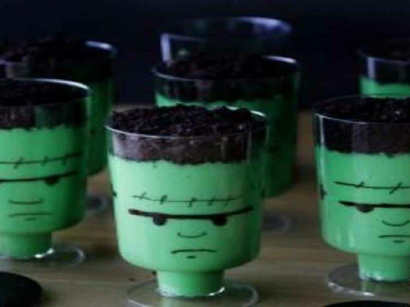 Creme Frankenstein Halloween