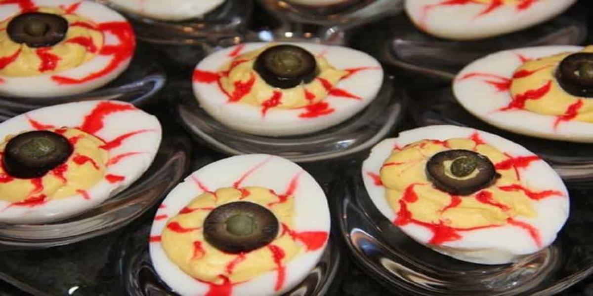 Olhos de Terror Halloween