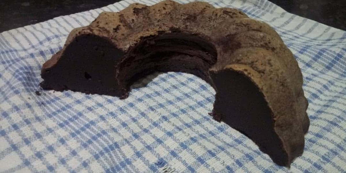 Bolo Engorda Marido de chocolate