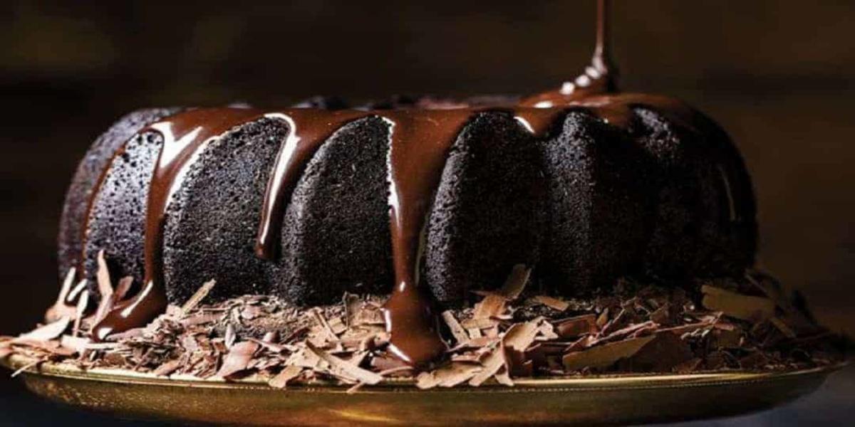 Bolo de Chocolate Preto