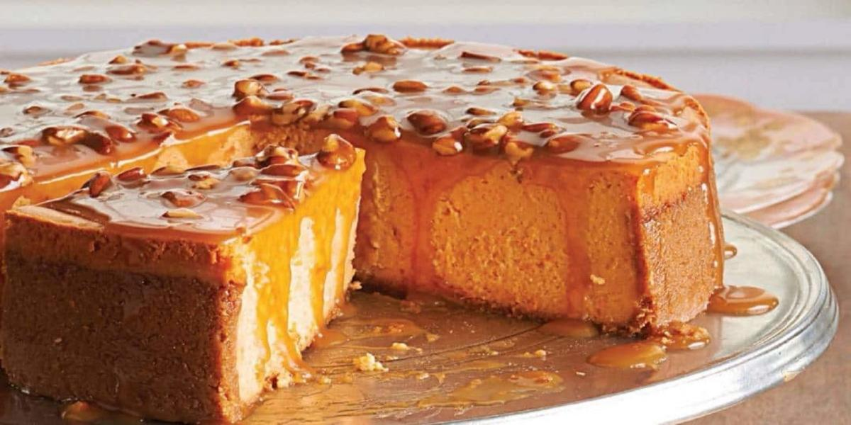 Cheesecake de Batata Doce