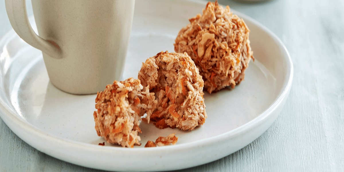 Bolinhos de Biscoito de Cenoura
