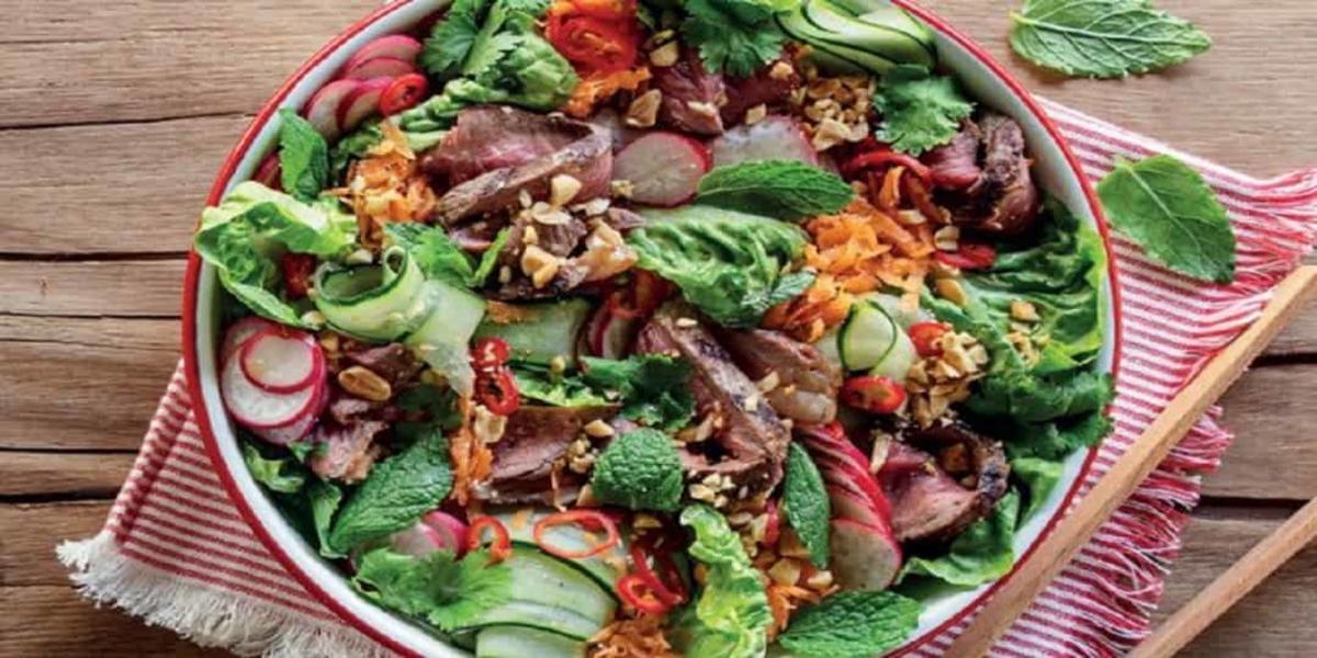 Salada de Picanha
