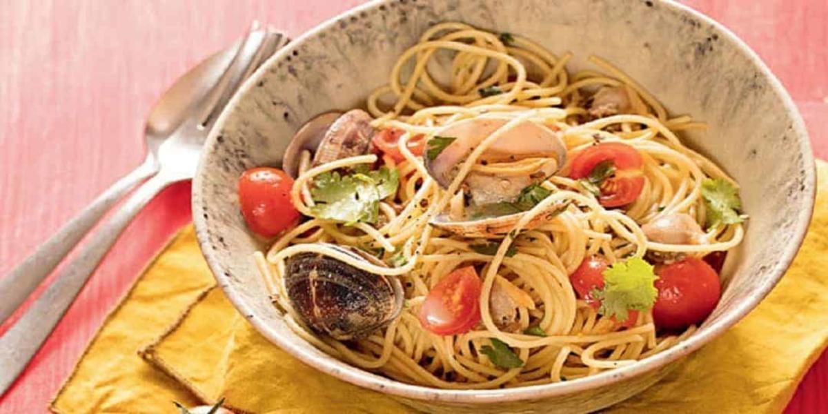 Esparguete com Amêijoas