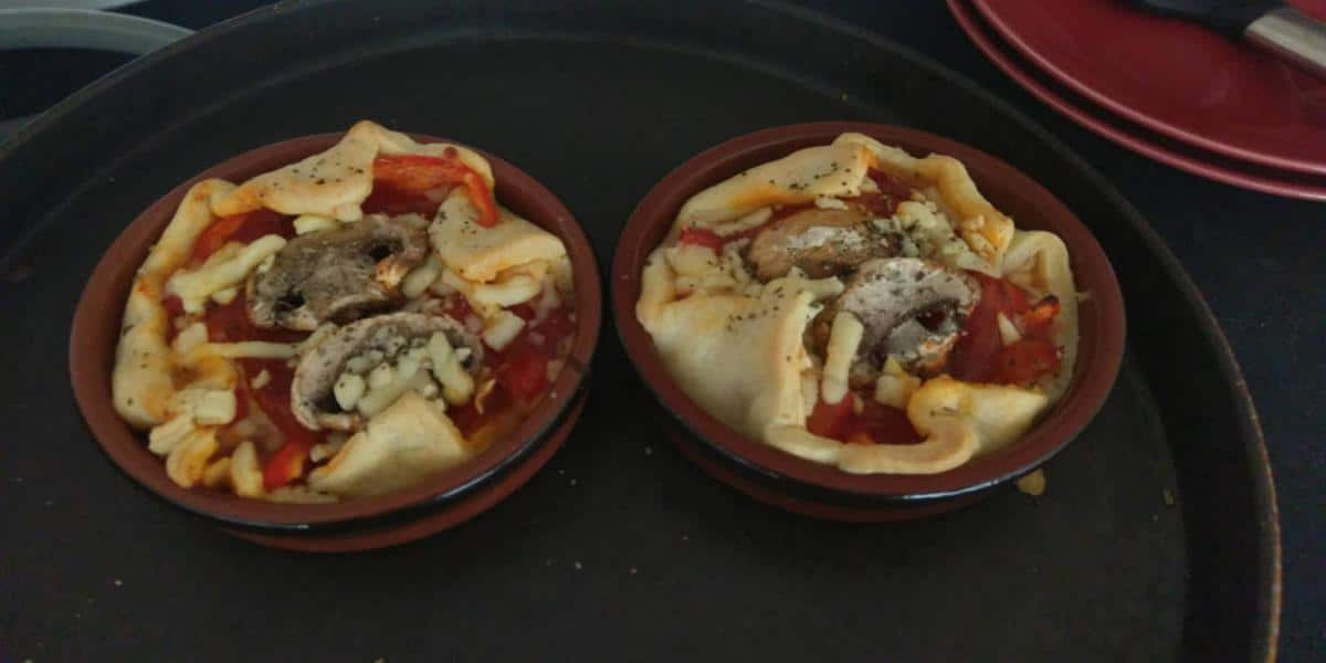 Mini Pizza Rápida