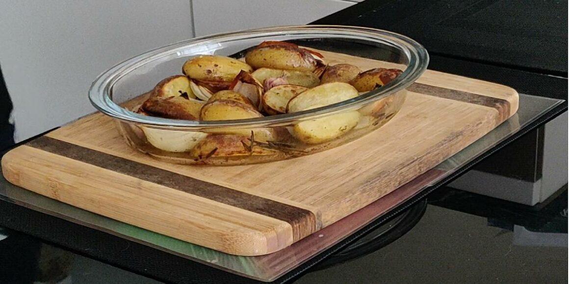 Batatas no Forno com Alecrim