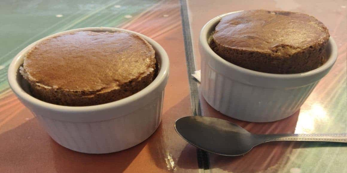 Soufflé de Chocolate