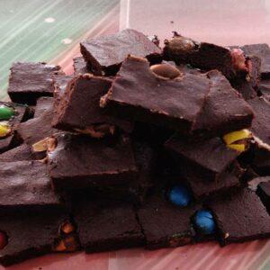 Brownie de Chocolate – Mordidas Leves