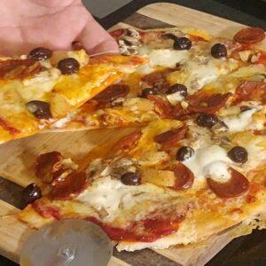 Pizza Rapida e Facil em 20 Minutos
