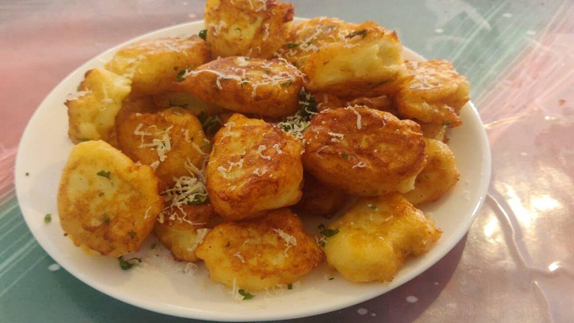 Bolinhas de Batata com Parmesão